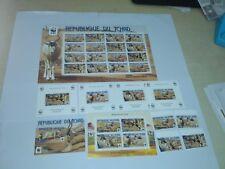Chad 2012  WWF antelope complete set