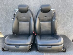 ✔MERCEDES W216 CL600 CL65 FRONT RIGHT & LEFT DESIGNO LEATHER SEAT SEATS OEM