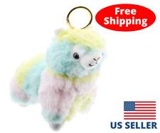 5'' Rainbow Alpaca Llama Plush Toy Alpacasso Doll Arpakasso Stuffed Animal Toy