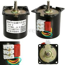 High Torque AC 220V 10RPM Gear-Box Electric Synchronous Gear Motor Replacement