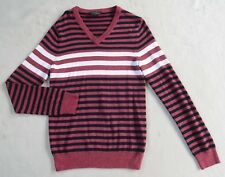 Red Black Striped Sweater In Mens Sweaters Ebay