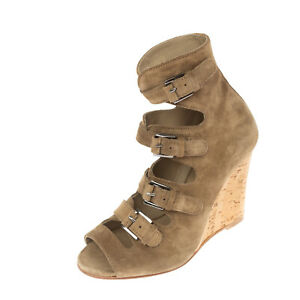 RRP €240 SURFACE TO AIR Leather Bootie Sandals EU 36 UK 3 US 6 Made in Portugal