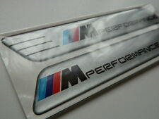 X2 BMW M SPORT WING badge/emblem Side Wing Fender BMW M3 M5 X3 X5  PANEL SILVER