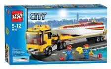 Lego City Town 4643 Power Boat Transporter NISB Speed Trailer Xmas Gift Marine