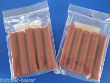 50 Lbs Snack Stick CASINGS  21mm Edible Collagen Slim Jims Pepperoni sausage