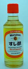 Marukan Seasoned Gourment Rice Vinegar For Sushi Vegetables Meat and More 12 oz