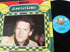 Jerry Lee Lewis-Breathless, vinile, Germany, è VG +