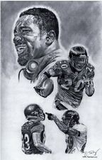 Baltmore Ravens Ed Reed sketch art drawing picture