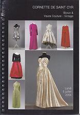 CORNETTE CYR Couture Vintage Fashion Jewels Chanel Dior Cardin Vautrin Catalog04