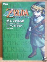 JAPAN Legend of Zelda Twilight Princess Perfect Guide book