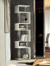 Libreria girevole mod. OSUNA 7241 TONIN CASA legno laccato supporti a specchio