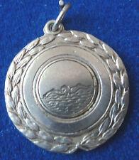 Vintage Irish Silver Kilgarvan Regatta Swimming Medal or Fob -  h/m 1944 Dublin