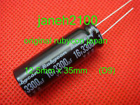 10 Rubycon 3300uF 16V 105C Radial Electrolytic Capacitor 12.5x35mm LI
