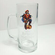 Captain Morgan's Spiced 0.3L Glass handled Tankard Tumbler - Rum Gift Barware