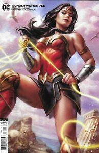Wonder Woman Comic 755 Cover B Variant Ian MacDonald 2020 Steve Orlando DC