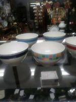 5 Villeroy and Boch rice bowls.