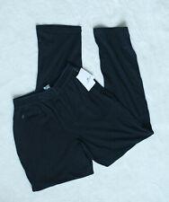 Lacoste NWT Sleepwear Pajama Lounge Pants Black Men's Soft $48 Small