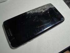 CRACKED SCREEN Samsung Galaxy S7 edge SM G935 32GB  Black Onyx Verizon UNLOCKED