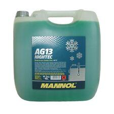10 Liter Kühler Frostschutz AG13 für G11 grün  bis -40°C Audi VW BMW Opel Ford