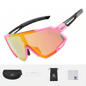 Wheel Up Sunglasses Anti-UV400 Womens Sports Glasses Cycling Running(Pink)