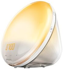 Philips HF3531/01 Wake-Up Light (Sonnenaufgangfunktion, Touchdisplay, 7 Wecktöne