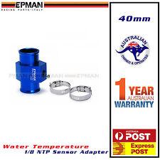40mm Water Temperature gauge Sensor Adapter * radiator hose temp mount * EPMAN