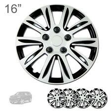 """FOR JEEP NEW 16"""" ABS SILVER RIM LUG STEEL WHEEL HUBCAPS COVER 547"""