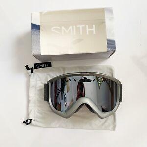 Smith Knowledge OTG Ski Snowboard Goggles Graphite with Ignitor Mirror Lens