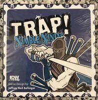 TRAP! NIMBLE NINJAS by IDW Games, Jeffrey Neil Bellinger, 2015 NEW & SEALED