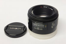 Minolta af 1,7/50 mm lente para Minolta af/Sony