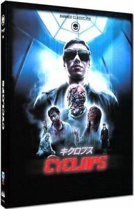 Cyclops Blu-Ray & DVD Mediabook A Cinestrange Extreme Jôji Iida 1987 Japan