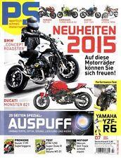 PS1407 + KTM 1290 Super Duke R vs. Voluno MT-01 + Auspuff-Spezial + PS 7/2014