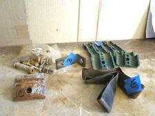 Jerr Dan Screw Bolt Angle Brace C Metal Green Plastic Mold Rubber Strap LOT OF 5