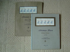 Schumann álbum de piezas para niños para piano H willebeek le Mair Partituras