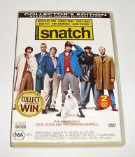 DVD - Snatch - Brad Pitt - Benicio Del Toro - Jason Statham - REDUCED!!