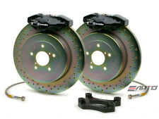 Brembo Rear GT Big Brake BBK 2piston Black 294x19 Drill BMW E46 320 323 325 328