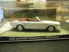 James Bond Cars Collection 035 FORD MUSTANG CONVERTIBLE GOLDFINGER