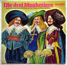 """12"""" Vinyl - DIE DREI MUSKETIERE - Abenteuerhörspiel von Kurt Vethake"""