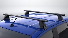 GENUINE TOYOTA HILUX JUL15> DOUBLE CAB SET OF AERO ROOF RACK CARRY BARS SR SR5