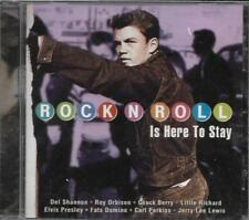 CD ROCK N ROLL 20T PRESLEY/COASTERS/BERRY/DOMINO/VENTURES/LEWIS  NEUF SCELLE
