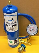 R134, R-134a, Refrigerant, LARGE CAN, 28 oz. Check & Charge It Gauge, R134a KIT