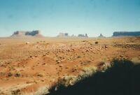 USA Navajo Land FOUND PHOTO Color FREE SHIPPING Original Snapshot VINTAGE 811 26