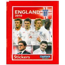 ENGLAND OFFICIAL WORLD CUP 2010 STICKERS x 5 PACKS