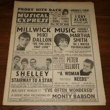 NME MAGAZINE PAPER 5 FEBRUARY 1965 BEATLES PJ PROBY ANIMALS DUSTY THEM SEEKERS