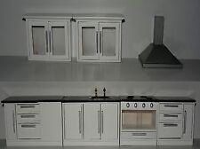 Küche 7 teilig Küchenset Puppenstuben .