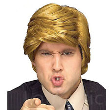 Fashion Donald Trump Wig Style Billionaire Blonde Hair for Fans Cosplay Costume