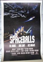 MEL BROOKS SIGNED 11x17 INCH CANVAS DC/COA (SPACEBALLS) PROOF