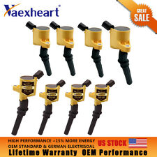 8pcs Super Ignition Coils For Ford F250 F550 4.6/5.4/6.8L DG508 V8 V10 Lincoln