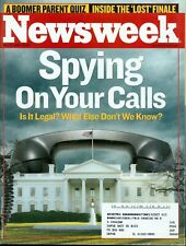 2006 Newsweek Magazine: Government Spying on your Phone Calls