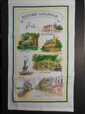 Linen Souvenir Towel: HISTORIC SAVANNAH